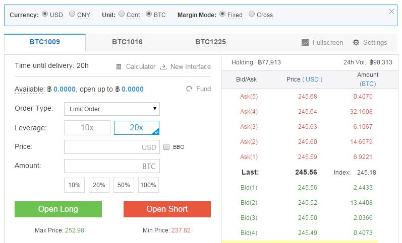 handelen in bitcoins met OKCoin